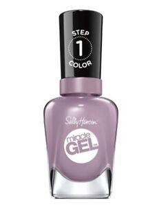 Sally Hansen Miracle Gel Nail Polish Street Flair 559, New Purple Pastel 0.5 Oz