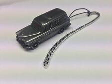 Volvo 120 Amazon Estate FULL CAR on a Pattern bookmark with cord ref287