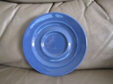 Ironstone Blue Pottery Cups & Saucers