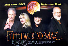 Fleetwood Mac 2013 Rumours 35th Anniversary Tour Hollywood Bowl Promo Poster