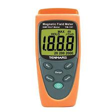 Gaussmeter EMF Magnetic Field Gauss Meter 30-300Hz Electromagnetic Wave 2000mG