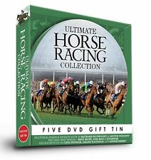 Ultimate Horse Racing Collection 5 DVD Gift Tin Best Mate One man Lester Piggott