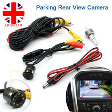 Car IR Rear View Parking Reverse Camera Front Side 8 LED Night Vision Truck UK