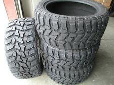 4 New Lt 35x12.50R20 Lancaster Mud Tires 35125020 M/T Mt 35 12.50 20 1250 E