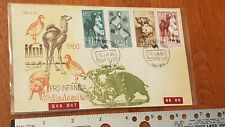 IFNI 1960 FIRST DAY ISSUE STAMP HINGES CAMEL WILD BOAR