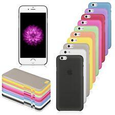 Custodia COVER Sottile 0.3mm Bumper Slim Trasparent per iPhone 6 6S Plus 5S 5C 5