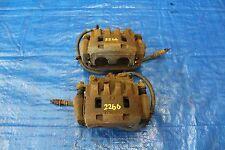 2008 SUBARU IMPREZA WRX SEDAN TURBO OEM FRONT BRAKE CALIPERS PAIR ASSY GV7 #2266