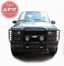 APU 2002-2009 Chevy Trail Blazer Black Grille Bumper Guard Push Crash Bar