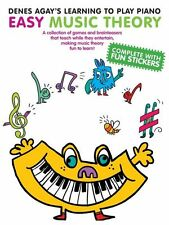 Denes Agay's Learning To Play Piano EASY Theory Learn Lesson Tutor Music Book