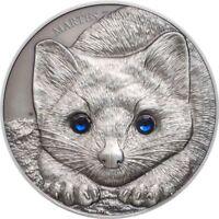 2017 1 Oz Silver 500 Togrot SABLE WILDLIFE Protection Coin Mongolia..