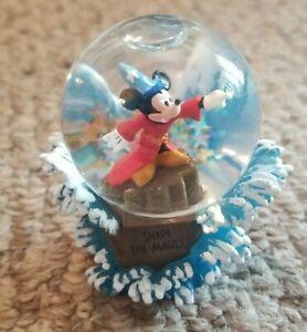 Hallmark Mickey Mouse Sorcerer's Apprentice 'Share The Magic' Mini Snow Globe