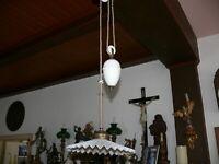 Rarität Original   Jugendstil Lampe Zuglampe Lampe Jugendstillampe ca. 1910
