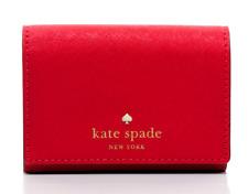 Kate Spade Card Case Wallet Coin Purse Mikas Pond Christine ~NWT $128~