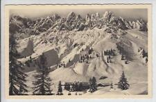 AK Arthurhaus mit Mandlwand im Winter, 1951