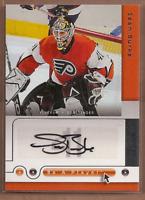 2005-06 Be A Player Signatures #SB Sean Burke Auto - NM-MT