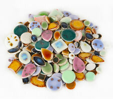Ultra-thin Ceramic Mosaic Tiles Tessera For Wall Arts DIY Hand Crafting Mix 90pc