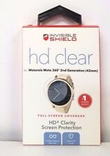 ZAGG Invisible Shield HD Clear Screen Protector Motorola Moto 360 2nd Gen 42mm