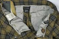 Barba Napoli Men's Plaid Cargo Slim Pants Size 34/49 New $325 SKU 18/21