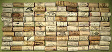 100 Natural Used Wine Corks. No Synthetic, No Champagne.