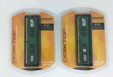 KINGSTON 1 GB Ram 533MHZ DDR2 for Desktops PC2-4200 x 2 KVR533D2/1GR NEW