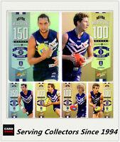 AFL Trading Card MILESTONES SUBSET MASTER TEAM SET-FREMANTLE-2014 AFL Champions