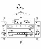 Genuine Chrysler 300 Rear Body Panel 5065744AF