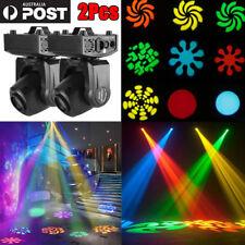 2pcs 60w RGBW LED Moving Head Stage Lighting Dmx-512 DJ Disco Xmas Party Lamp