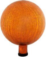 Achla Designs Gazing, Mandarin 10 inch Glass Garden Globe Ball Sphere, 10 New