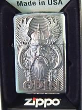 Zippo ® Zippo Odin Viking Blue Eyes Limited Edition Dios God vikingo New/nuevo Ltd