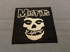 Misfits Embroidered Iron/Sew On Patch 3.25� x 3.25� Rock Punk Music Skull