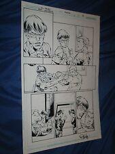 RED LANTERNS #4 Original Art Page #18 by Ed Benes/Rob Hunter (Green/DC Comics)