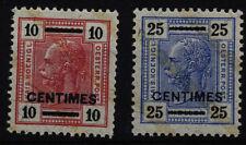 Ungebrauchte Briefmarken aus Levante (bis 1945) mit Falz