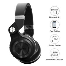 Bluedio T2 Bluetooth Stereo Headpsets Wireless Headphones with Mic Black