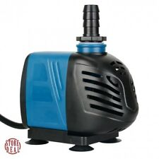 Under Water Pump Inline Submersible Fountain Waterfall Home Cord Outdoor 550 GPH