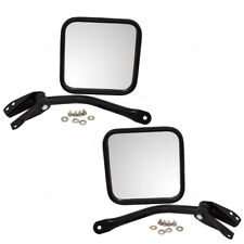 Jeep CJ Wrangler Set of Side View Manual Mirrors CH1320146 CH1321146