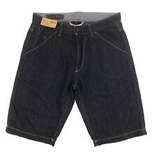 MARLBORO CLASSICS bermuda uomo jeans blu denim men blue bermuda shorts 48 (34)