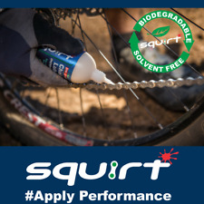 Squirt lube 120 ml - long lasting dry bike chain lube - SLUS 05