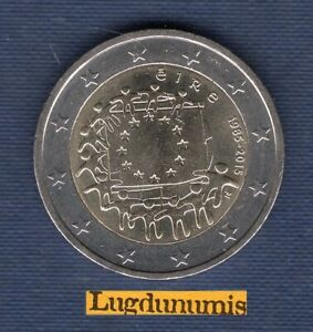 2 euro Commémo Irlande 2015 Drapeau EuropéenSUP SPL Ireland