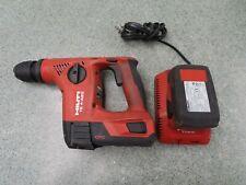 Hilti Te 4 A22 Li Ion Rotary Cordless Hammer Drill 2 Batteries 1 Charger