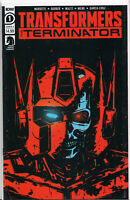 TRANSFORMERS vs. TERMINATOR #1 (COVER A VARIANT) COMIC BOOK ~ IDW