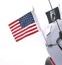 Trunk Mounted Double Flag Holder Kit for Can Am Spyder RT by Rivco (FH400)