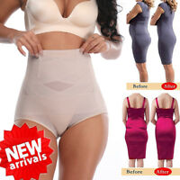 Women Hi-Waist Brief Invisable Body Shaper Tummy Control Panty Slim Butt lifter