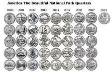 2010 - 2018 ATB NATIONAL PARK 41 COIN QUARTER SET Denver Mint
