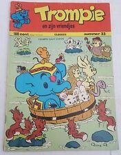trompie en zijn vriendjes classics # 33, 1973