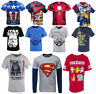 New Boys Star Wars Cargo Bay Superheroes Long/Short Sleeve T-Shirts 18 mths - 14