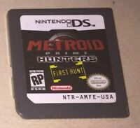Metroid Prime: Hunters - First Hunt -- Demo Edition (Nintendo DS, 2004)