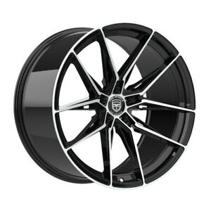 4 HP1 18 inch Black Rims fits TOYOTA CAMRY 4 CYL. 2012 - 2020