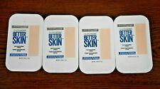 Lot Of 4 Maybelline Superstay Better Skin Powder 10 Porcelain 0.32oz Each