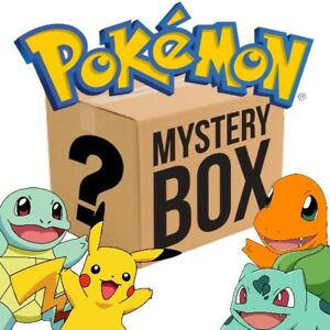 Secret Mystery Pokémon TCG Box! w/ Sealed Booster Packs Guaranteed