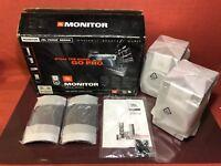 "JBL MONITOR Venue Series 2-Way 5"" Bookshelf Speaker Pair Black 280 Watts #1420"